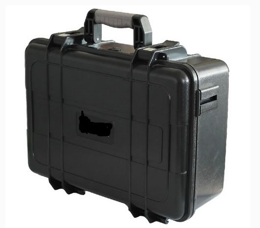 Everest case EPC014 IP67 black foam 425 * 325 * 168 mm