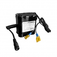 ENERpower 3S3P 11.1V battery (12V) 10Ah 110 Wh 3 x 2 for Echosounder