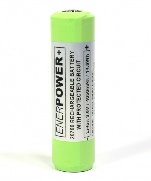 ENERpower VC+ Li-Ion Battery 3.6V 4050mAh 20700
