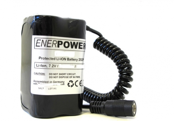 ENERpower Zehlendorf Basic Battery 7.4V 10000 mAh with Round Plug