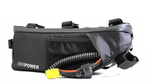 Softpack Battery Li-Ion 24V 15Ah 50E in Enerpower Frame Bag