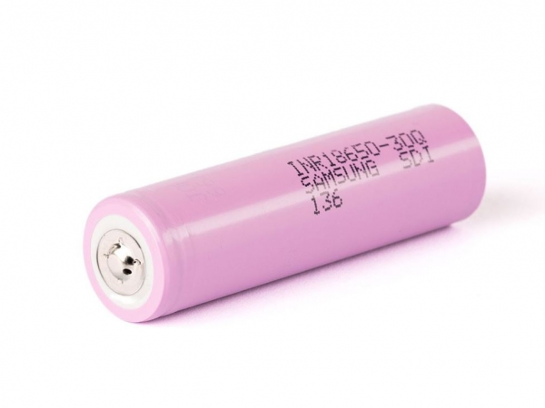 INR18650-35E Li-Ion-Zelle 3,6V 3450mAh - Button-Top