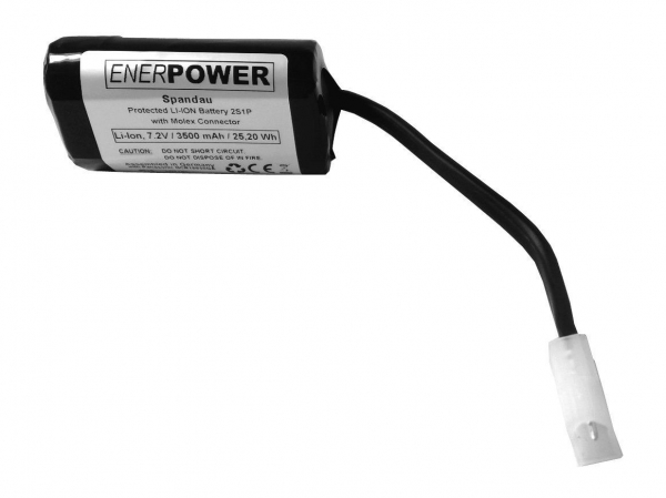 ENERpower Spandau Battery 7.4V 3450 mAh Molex