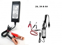 ENERpower Charger for 12V LiFePO4 Batteries 6A