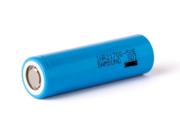 Samsung SDI INR21700-50E 21700 5000 mAh (10A) - 130 packaging
