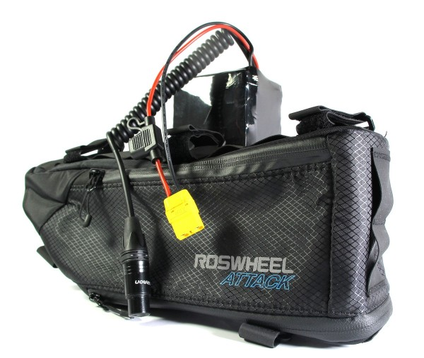 Softpack Battery 48V 13.8Ah 35E in Roswheel Bag