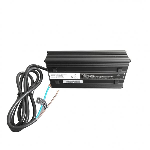 Smart Li-Ion Charger 42V for 36V 8A Out-Put Open-End Cables