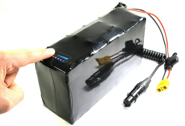 Softpack Battery 24V 17.2Ah BMS 20A XLR-3 with 30Q