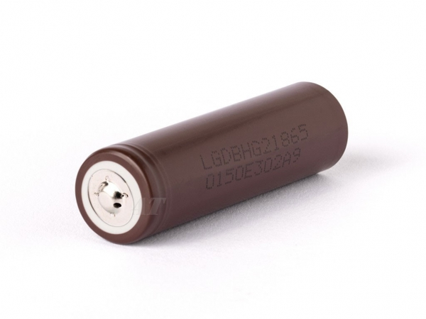 Murata (Sony) Li-Ion cell 3.6V 3000mAh - Button-Top