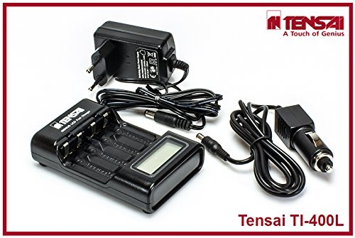 Tensai TI-400L AA / AAA Charger Ni-Mh / Ni-Cd LC-Display