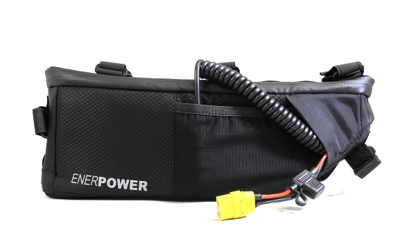 Softpack Battery Li-Ion 24V 10.35Ah 35E in Enerpower Frame Bag