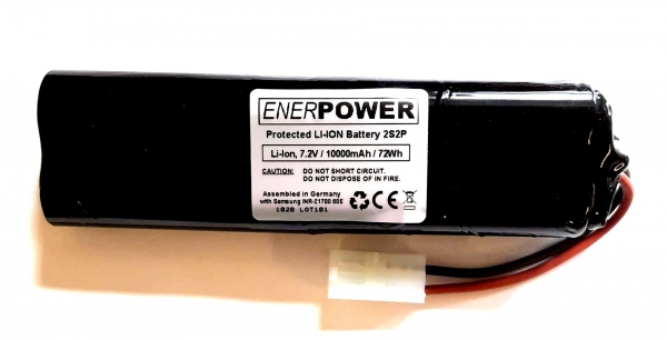 Enerpower 2S2P Li-Ion 7.2V-7.4V with Tamiya Connector