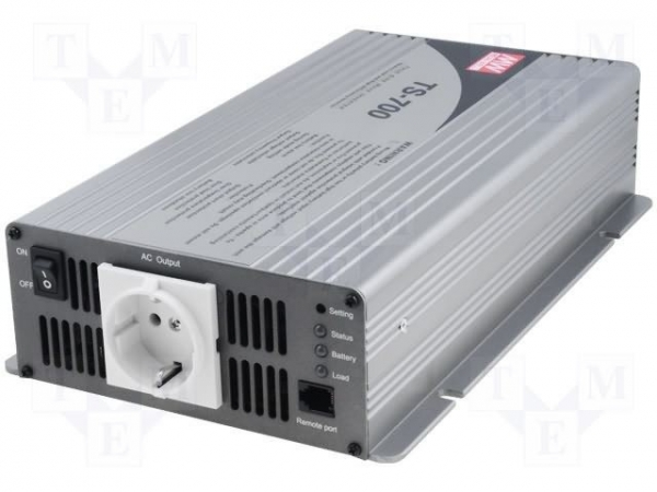 Meanwell DC/AC Power inverter 21V-30VDC 230VAC 700W