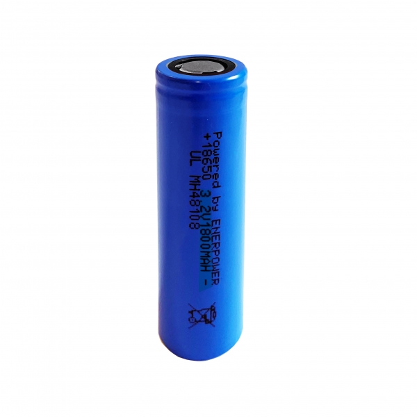 100 x ENERpower 18650 LiFePo4 3.2V 1800 mAh