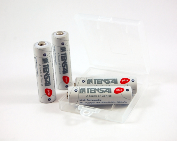 Tensai AA Mignon Rechargable Ni-Mh 1.2V 2500 mAh Low-self discharge