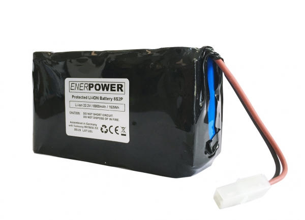 Softpack Battery 21.6V-22.2V 10.2Ah PCM 10A Tamiya Connector