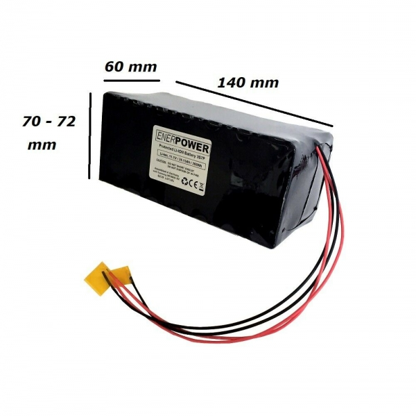 ENERpower Battery-Tank 11.1V 24,15Ah Li-Ion DIY Open-End 140 x 60 mm