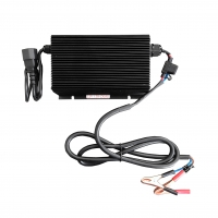 Smart Li-Ion Charger 14.4V for 12V LiFePo4 15A Out-Put Open-End Cables