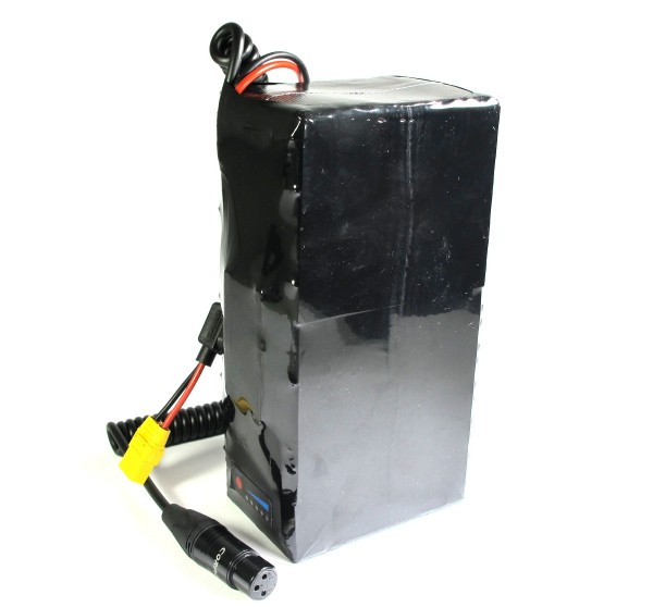 Softpack Battery 48V 30Ah BMS 30A XLR-3 with 50E - SQUARE