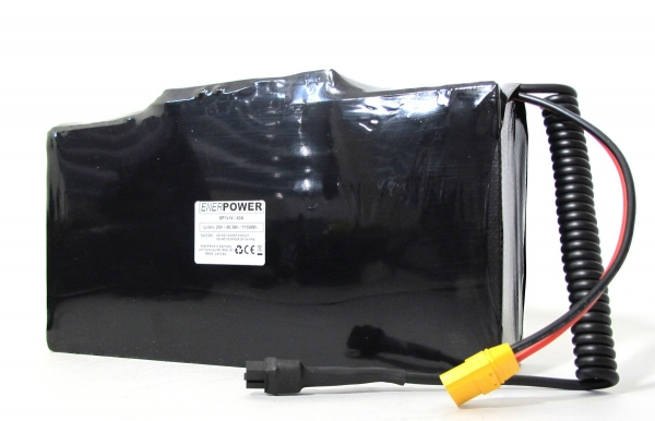 Softpack Battery 24V 50Ah BMS 40A XLR-3 with 50E