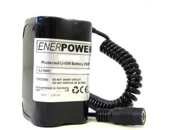 ENERpower Lübben Battery 14.4V (4S) 5000 mAh 2x2