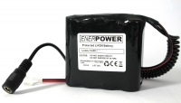 ENERpower 4S1P battery 14.4V-14.8V 2900 mAh Li-Ion with DC / Cable Open.-End 4x 1