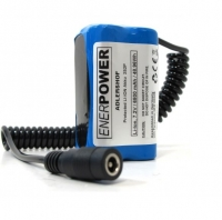 ENERpower Adlershof Basic Battery 7.4V 6800 mAh with Round Plug