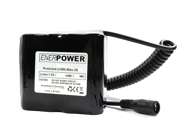 ENERpower Mitte Basic Battery 7.4V 12600 mAh DC Connector