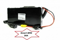 Softpack Battery 48V 14.25Ah BMS 30A XLR-3 with 29E - 10 x 7 SQUARE
