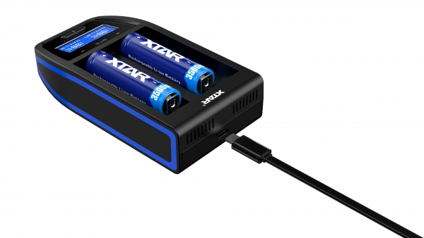 Xtar ST2 Ultra fast Charger for Li-Ion Battery Cells