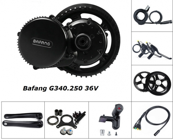 Bafang MM.G340 36V 250W Central Motor BBS01B Without Display 2019